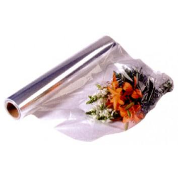 Blumenfolie PP; 50 cm x 200 m; 19 my; kristallklar; Rolle