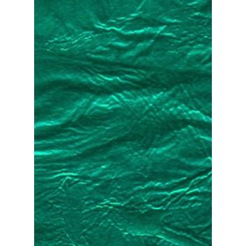 Bonbonfolie / Schokoladenpapier; 17 x 17 cm; ca. 9 my Stanniol (hauchdünne Alufolie); grün; lose verpackt