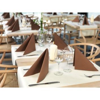 Duni Dinner-Servietten; 40 x 40 cm; uni & Design; viele Farben; Dunisoft; 1/4-Falz (quadratisch); Vlies