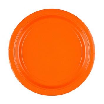 Riethmüller Pappteller; Ø 22,8 cm; uni; orange; Hartpappe; rund