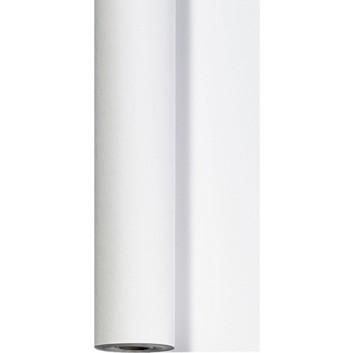 Duni Tischtuch-Rolle; 118 cm x 25 m; Linnea uni; weiß; 186663; Dunisilk; Breite x Länge; abwischbar & wasserabweisend