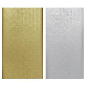 Duni Tischtuch, Dunisilk+ metallic; 138 x 220 cm; uni; viele Farben; Dunisilk+  = feucht abwischbar; Breite x Länge; Tuch gefaltet verpackt