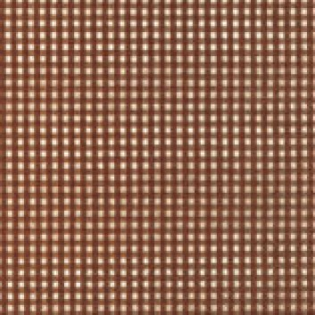 Paper + Design Cocktail-Servietten, Vichy; 25 x 25 cm; Vichy brown; braun; 11064; 3-lagig; 1/4-Falz (quadratisch); Zelltuch