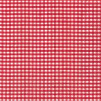 Paper + Design Servietten, Vichy; 33 x 33 cm; Vichy red; rot; 20973; 3-lagig; 1/4-Falz (quadratisch); Zelltuch