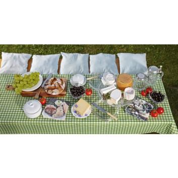 Paper + Design Tischläufer, 3 in 1; 40 x 360 cm; Vichy; verschiedene Farben; Airlaid; alle 30 cm perforiert
