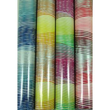 Braun & Company Geschenkpapier, lux; 70 cm x 2 m; verschiedene ausgewählte Motive; verschiedene Farben; Röllchen