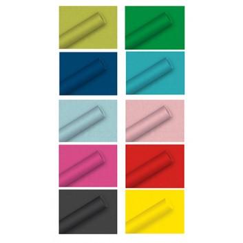 Braun & Company Geschenkpapier, uni/bicolor-Einzelrollen; 70 cm x 2 m; uni oder bicolor; verschiedene Farben