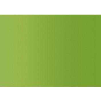 Braun & Company Geschenkpapier, seidenmetallic; 70 cm x 1,5 m; uni; hellgrün; 1909; seidenmetallic glatt, Rückseite weiß