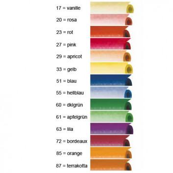 Werola Tischtuch-Rolle Damast; 100 cm x 10 m; uni; uni, viele Farben; Papier, geprägt; Breite x Länge