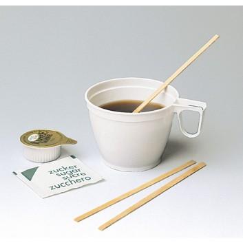 Holz-Kaffeerührer; 13,5 cm; natur; Holz; im Karton verpackt