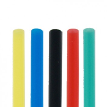 Kögler PLA-Jumbohalme; uni; schwarz, weiß oder farbig sortiert; 250 mm; 8 mm; PLA, starr; lose, ungehüllt, lebensmittelecht; Beutel