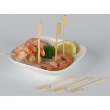 Kögler Bambusspieße/Fingerfood-Spieße; 12,0 cm; natur; Bambus; im Klarsichtkarton