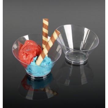 Kögler Buffet-Schale Mini, rund; DU: 10,3 x Höhe: 6,8 cm; glasklar; rund; Plastik