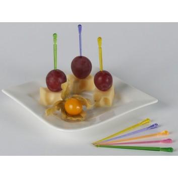 Kögler Partypicker, Plastik; uni; bunt, sortiert; 85 mm; Plastik; 1000 Stück im Polybeutel