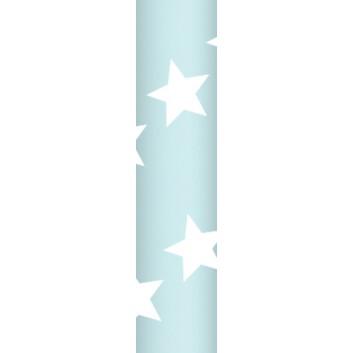 Ursus Papierstrohhalme M; Sterne; hellblau; 200 mm; 80 mm; Papier; lebensmittelecht, wasserfest; in Blisterverpackung