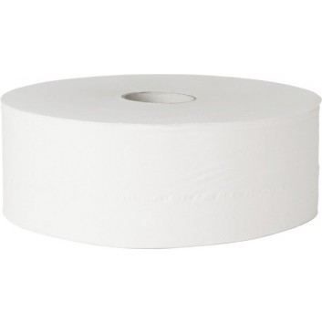 fripa Toilettenpapier, Großrolle; 2-lagig; hochweiß; ca. 420 m - ohne Perforation; geprägt, 100% Zellstoff; Durchmesser: ca. 27 cm