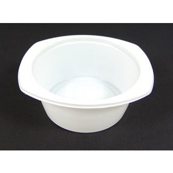 Plastik-Schale; 115 x 102 x 45 mm; weiß; Poly
