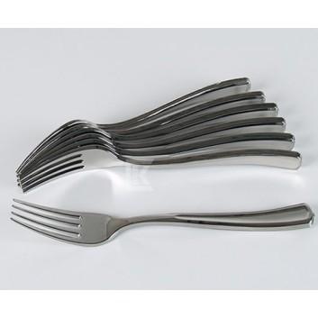 Kögler Gabeln, silber; 18,5 cm; silber; Plastik; im Klarsichtbox verpackt