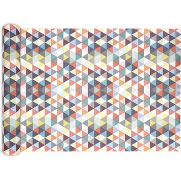 HomeFashion Tischläufer; 40 x 490 cm; verschiedene Motive; verschiedene Farben; Airlaid