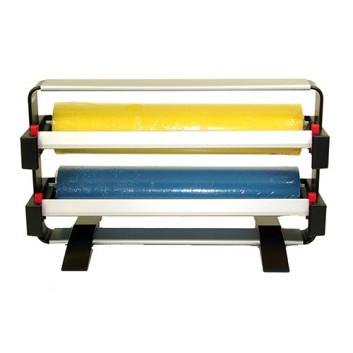 Legro Abroller Legro Midi Duo; 2 Rollen a 50 cm Breite (DU -15,5cm); Rahmen+Messer - Halterung separat; gezahntes Messer; für Folie und Papier