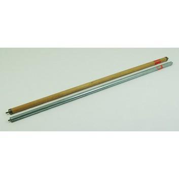 Ersatz-Wellen; Holzabroller; Holz oder metallummantelt; Preis je Meter