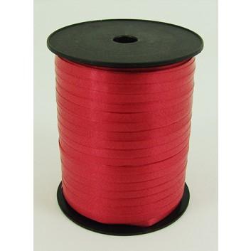Bolis Poly-Ringelband; 5 mm x 500 m; uni: matt; rosso: rot; 01; Polyband/Kräuselband