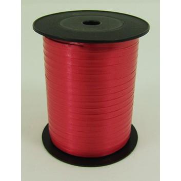 Bolis Poly-Ringelband; 5 mm x 500 m; uni: matt; fire: feuerrot; 30; Polyband/Kräuselband