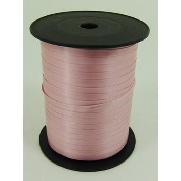 Bolis Poly-Ringelband; 5 mm x 500 m; uni: matt; rosaalba: babyrosa; 36; Polyband/Kräuselband
