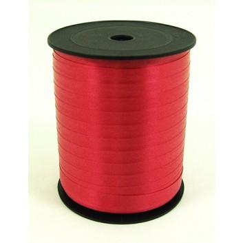 Bolis Poly-Ringelband; 10 mm x 250 m; uni: matt; rosso: rot; 01; Polyband/Kräuselband