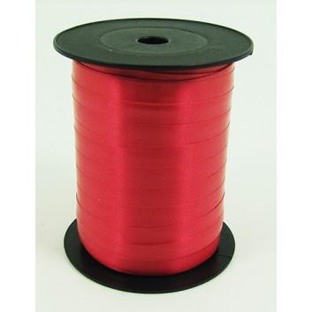 Bolis Poly-Ringelband; 10 mm x 250 m; uni: matt; fire: feuerrot; 30; Polyband/Kräuselband