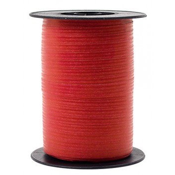 GoldiDecor Packpaper-Ringelband; 10 mm x 100 m; uni: Packpapieroptik; rot; 8178 20; Ringelband/Kräuselband, Packpapieroptik; Polyband