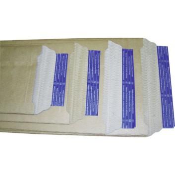 Arowell Wellpapptasche; braun; 270 x 210 mm; 265 x 205 mm; ohne Fenster; #2/B; Pappe; mit Haftstreifen; L x B