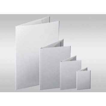 Ursus Jurismappe; grau; für DIN A4; Graukarton (Recyclingqualität); ca. 250 Blatt; 3 Klappen, unbedruckt; ohne Verschlußband