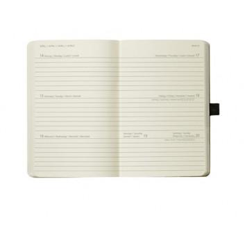 Sigel Wochenkalender Conceptum div. Designs; verschiedene Designs; 9,5 x 15 x 1,7 cm / 11,5 x 15 x 2 cm; 1 Woche = 2 Seiten; diverse; diverse