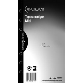 Chronoplan Tagesanzeiger; transparent; Midi; 50337; Kunststoff-Folie