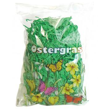 Ostergras; grün; 30g-Pack; in Plastikbeutel verpackt