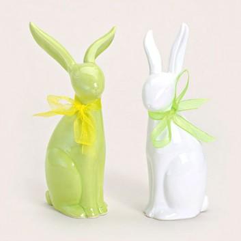 Deko-Hase, Keramik/Porzellan; groß