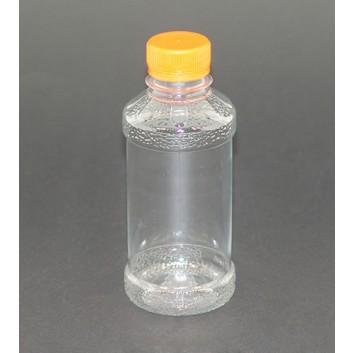 SAFTFLASCHE+Schraubverschluß 400Pk; 250 ml; glasklar; PET; ohne Etikett
