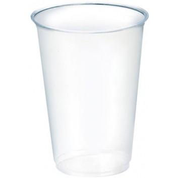 Becher Bio-PLA - die Umweltbewußten; 200 ml; klar; PLA (=Polymilchsäure); 200 ml; DU: 70,5 mm / Höhe: 96,4 mm; bis max + 40°C