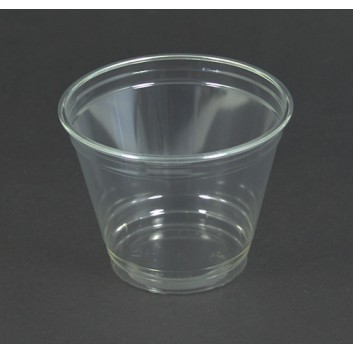 Smoothie-Becher; 200 ml; klar, unbedruckt; PET = Polyethylenterephthalat, recycelb.; passender Deckel:Dom:822297/Flach:822397
