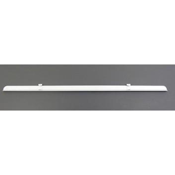 Messerschiene, gezahnt; zum Aufstecken auf alle Holzabroller; 100 cm breit; ideal für Folien; wieder abnehmbar