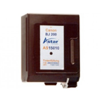 Astar Kompatible Tintenpatrone; AS15010=Canon#BC02; schwarz; geeignet für Canon BJ10, BJ15, BJ20; !!! Sonderpreis da MHD 4/2015 !!!