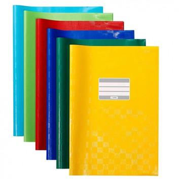 Herlitz Heftschoner PP; DIN A4; uni, Baststruktur; verschiedene Farben; 52040..; mit Beschriftungsetikett; aus PP