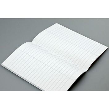 Vokabelheft Premium A5; Lineatur 53 = liniert mit 1 Trennlinie; DIN A5; stabiler Umschlag, uni lackiert; 32 Blatt