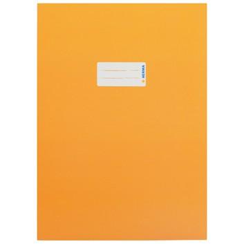 HERMA Heftschoner Karton; DIN A4; uni, leicht glänzend; orange; 19747; Karton, extrastark; mit Beschriftungsetikett