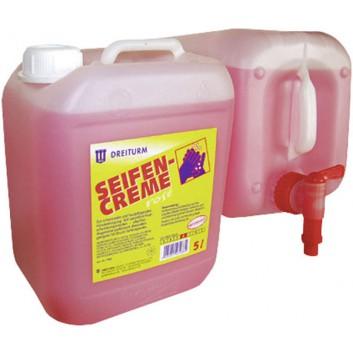 Dreiturm SEIFENCREME rosé; Kanister; rosa; Kanister = 10 Liter