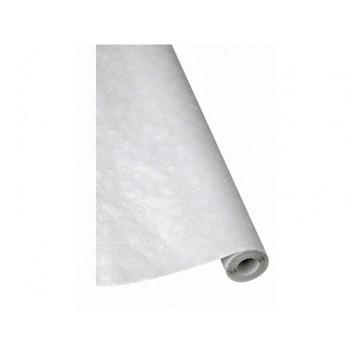 Werola Tischtuch-Rolle; 80 cm x 50 m; uni; weiß; Papier, geprägt; Breite x Länge; ideale Breite für Biertische